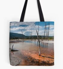 Black Sand Basin Tote Bag