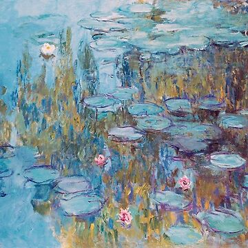 Claude Monet,Nympheas,beautiful,vintage,painting by love999
