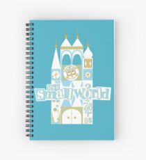 it's a small world! Spiral Notebook