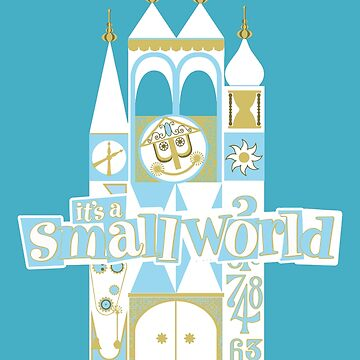 it's a small world! by Pop-Tacular