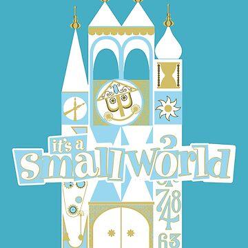 Es ist eine kleine Welt! von Pop-Tacular
