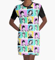 Goldene Mädchen POP! T-Shirt Kleid