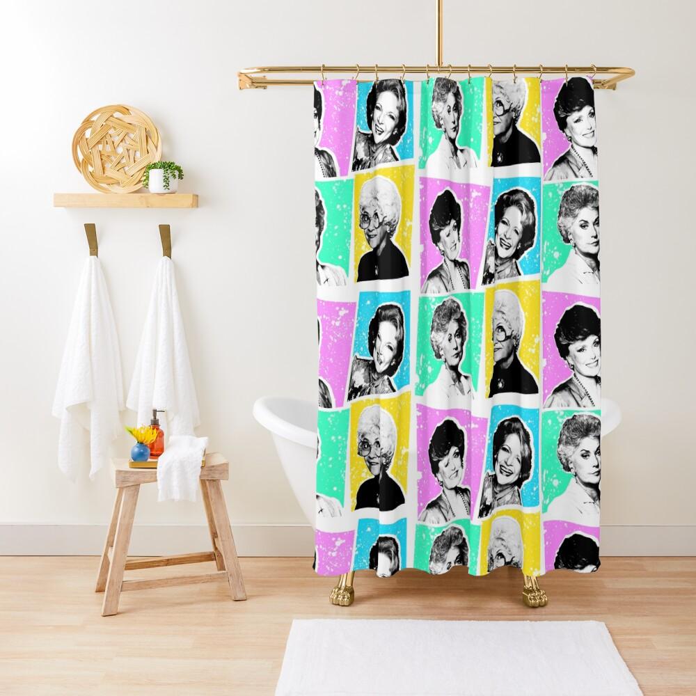 Golden Girls POP! Shower Curtain