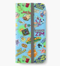 Nicktoons Hawaiian Print-a-Palooza! iPhone Wallet/Case/Skin