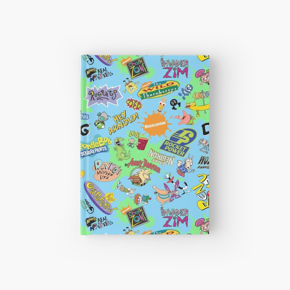 ¡Nicktoons hawaiano Print-a-Palooza! Cuaderno de tapa dura