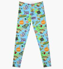 Nicktoons Hawaiian Print-a-Palooza! Leggings