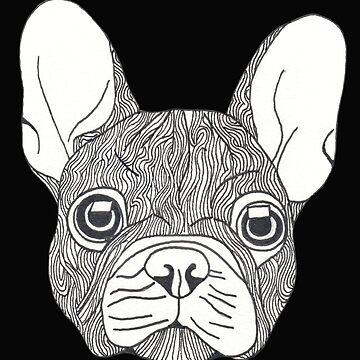 Cute French-bulldog  by Surrealist1