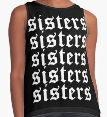 Sisters James Charles Merch Repeat White Contrast Tank