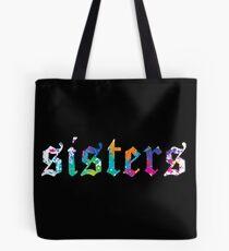 James Charles - Sisters Paint Splatter (Black)  Tote Bag