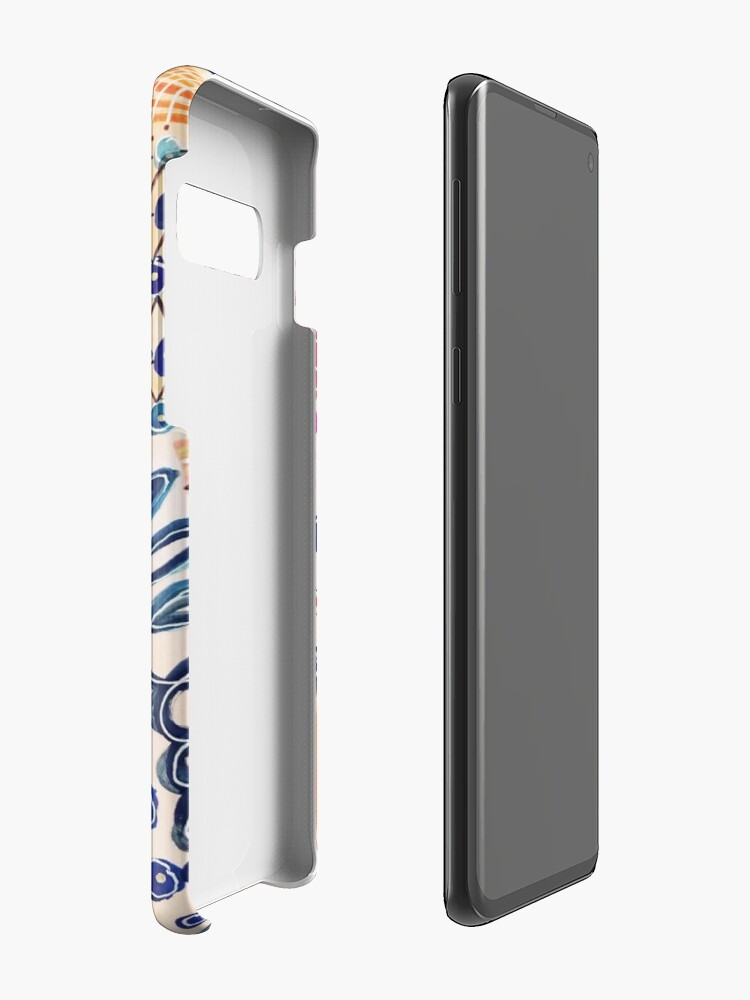 Alternate view of Shakti Abstract Hand Painted Design Case & Skin for Samsung Galaxy