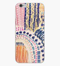 Shakti abstraktes handgemaltes Design iPhone-Hülle & Cover