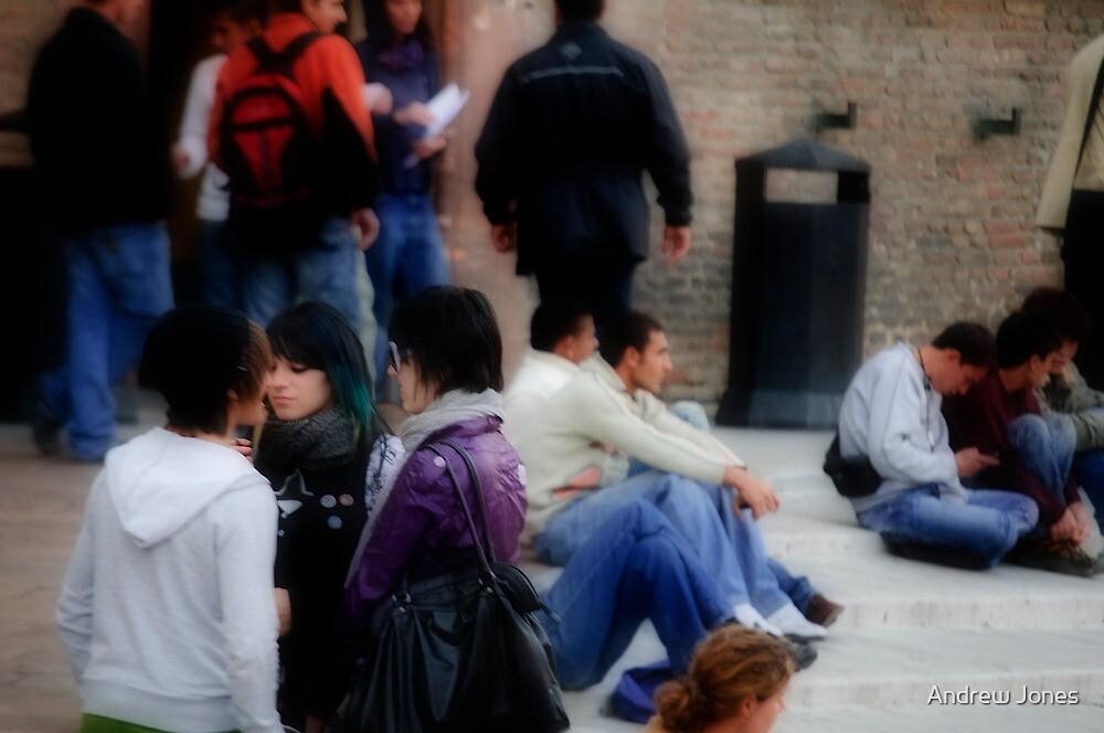 Piazza del Nettuno, Bologna, Italy by Andrew Jones
