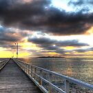 "Sunrise at ""The Rip"", Point Lonsdale by Lynden"