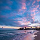 Sunset Colours at Carrer La Mar by Ralph Goldsmith