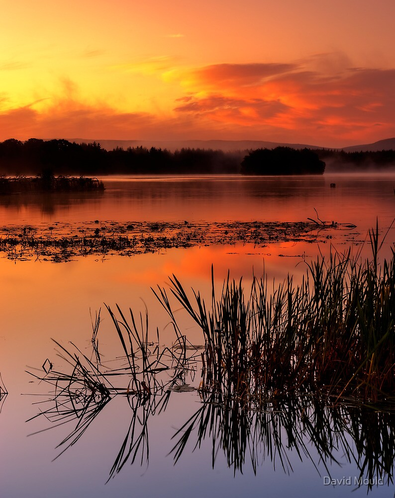 Lake of Menteith, Trossachs by David Mould