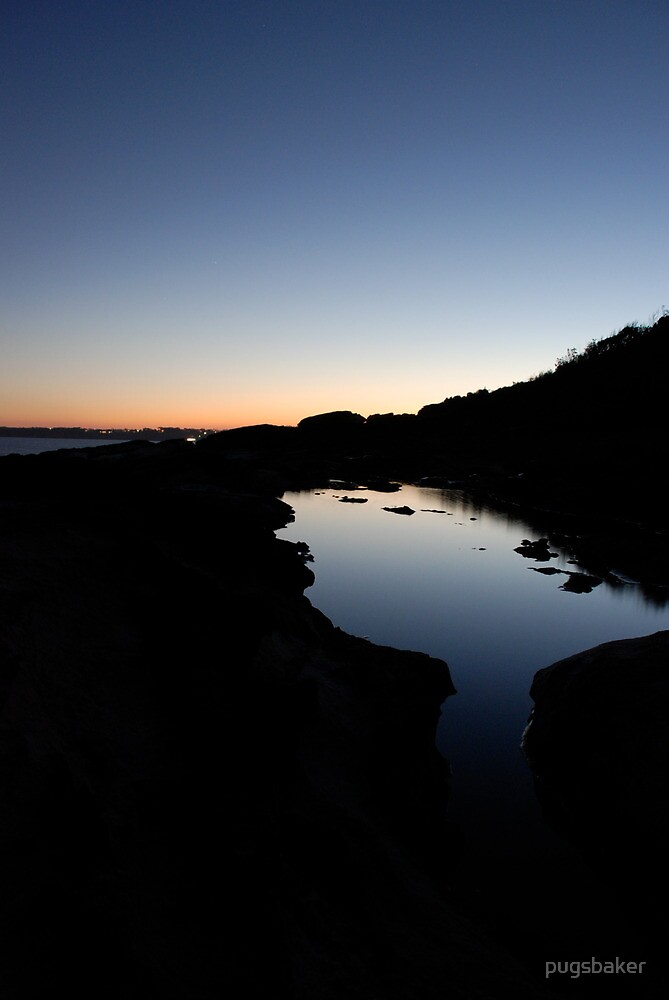 mollymook sunset by pugsbaker