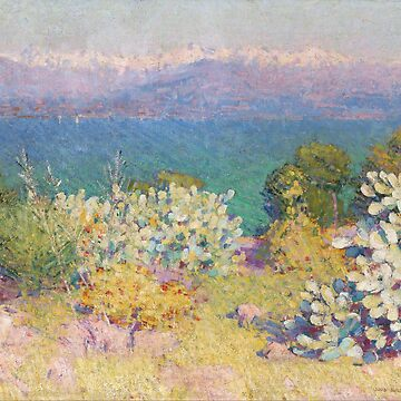 In the morning, Alpes Maritimes from Antibes Object type - John Peter Russell by themasters