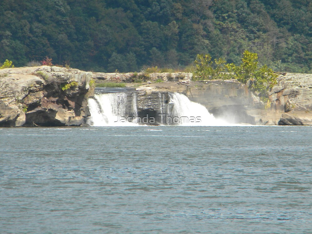 Kanawaha Falls by Jacinda Thomas