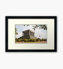 Ho Chi Minh Mausoleum Framed Print