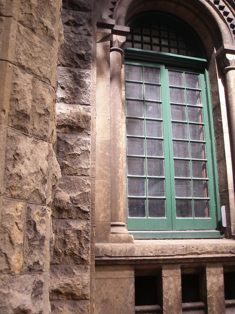 Window of Melbourne Jail by KatieLee648