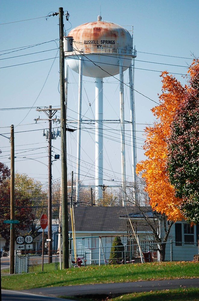 Water Tower by Geezer94