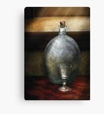 Bar - The Flask and the Glass Canvas Print