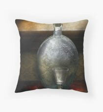 Bar - The Flask and the Glass Throw Pillow