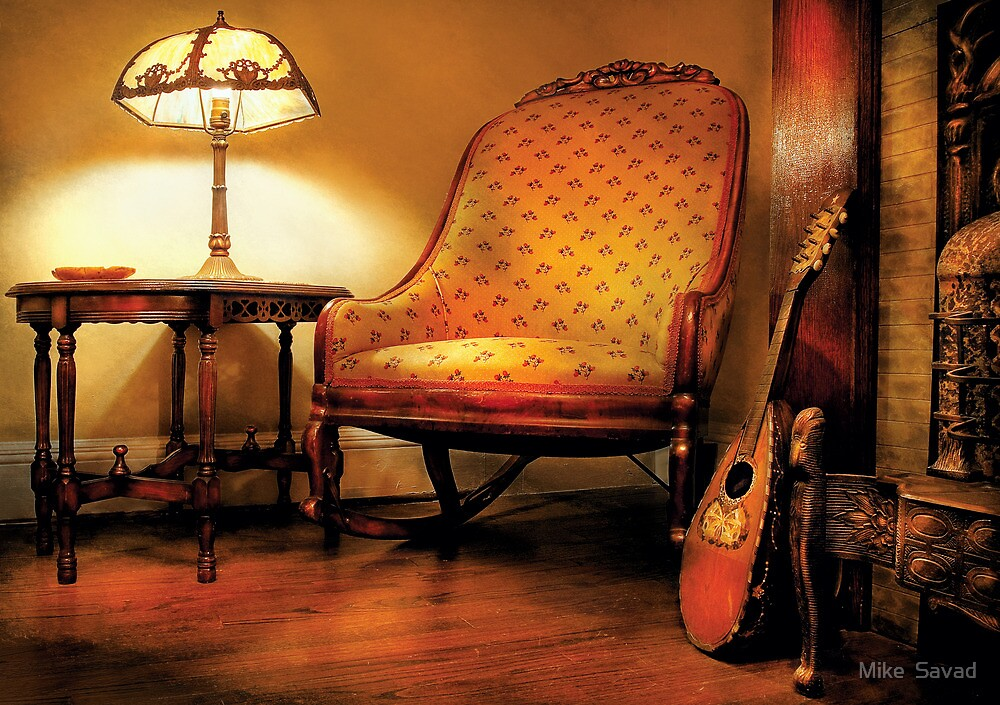 Music - The chair and the lute by Michael Savad