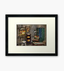 Painter - The Artists Studio Framed Print