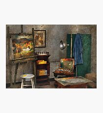 Painter - The Artists Studio Photographic Print