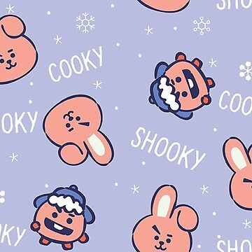 BT21 Let It Snow - Cooky + Shooky by ZeroKara