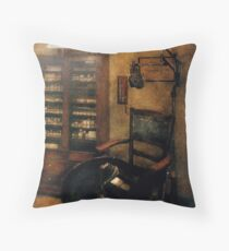 Optometrist - The  Optometrists Office Throw Pillow