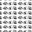 Tumbling Panda Bears (SET) by Articles & Anecdotes