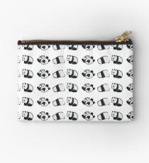 Tumbling Panda Bears (SET) Zipper Pouch