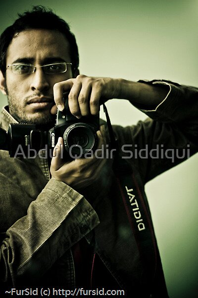 Selfie by Abdul Qadir Siddiqui