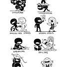 Ninjas: The Unseen Helpers by Queenmob