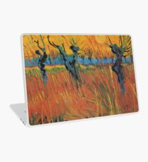 Vintage Vincent Van Gogh Willows at Sunset 1888 Laptop Skin