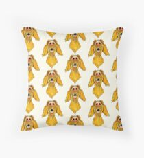 Hungarian Wire Haired Vizsla Throw Pillow
