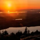 Sunset From Cadillac Mountain by Kathy Weaver