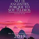 Spanisches Jahr 2019 (Purple Sunset) von JW ARTS & CRAFTS