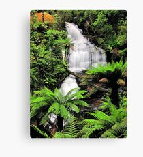 Upper & Middle Cascades Canvas Print
