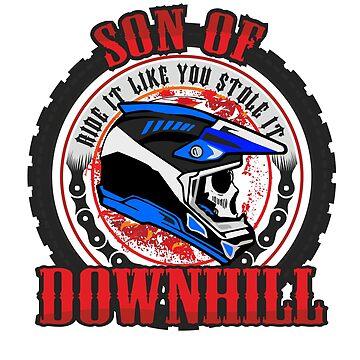 Son of Downhill by phskulmshirt