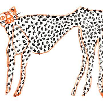Orange Leopard by BlueHoney