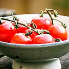 Red Tomatoes by Leon Woods