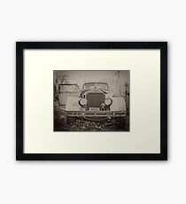 Retro Car Framed Print