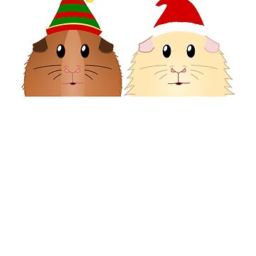 Guinea Pig Wheek You A Merry Christmas by Jonnio