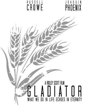 Gladiator // Minimalist Movie Poster by DesignedByOli