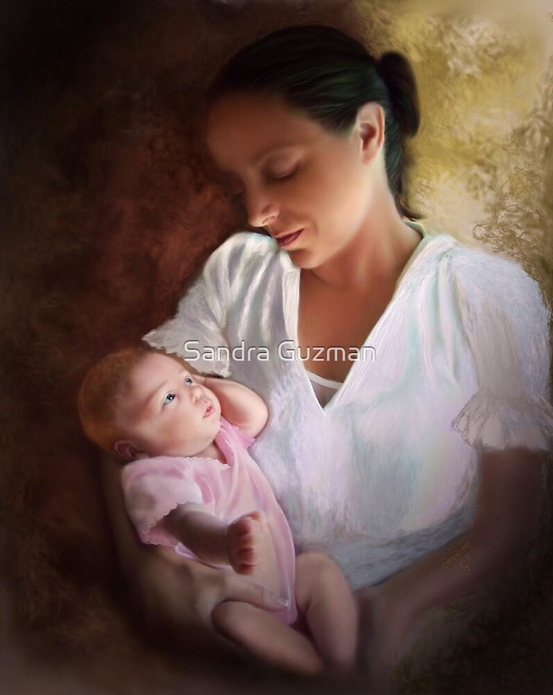 Heather and baby by Sandra Guzman