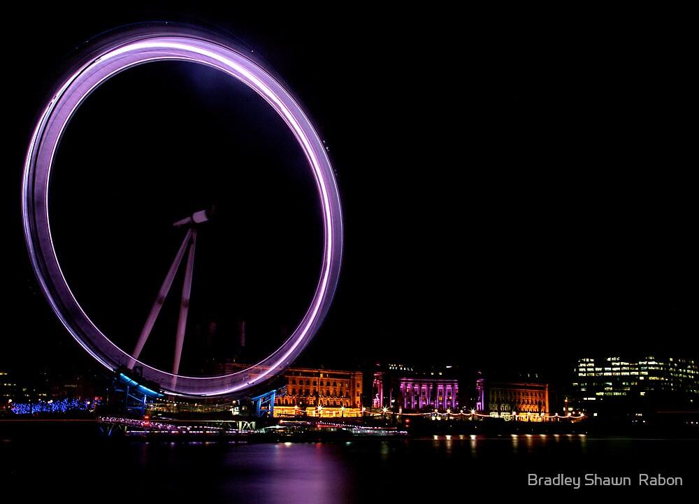 """The Eye Of London's Night Life"" by Bradley Shawn  Rabon"
