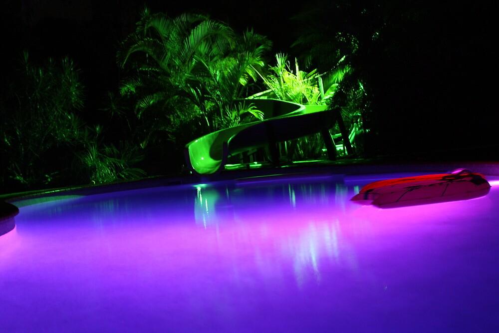 Purple pool by Nathan Woodrow
